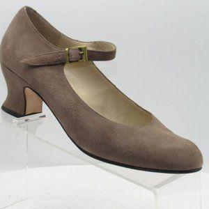 Laura Ashley Size 7.5 M/EU 38 Mary Janes C1C C33